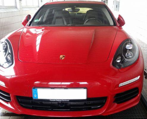 Porsche rot